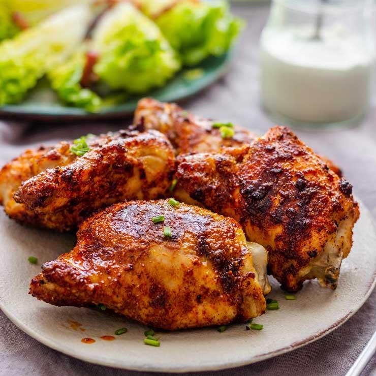 Air Fryer Chicken Thighs Recipe
