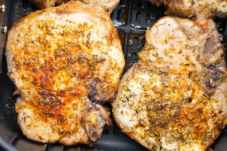 Air Fryer Pork Chops Recipe